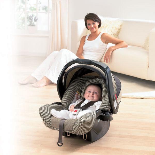 Fotelik samochodowy dla niemowląt 0-13 kg montowany tyłem do kierunku ruchu, Graco Autobaby