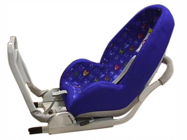 fotelik samochodowy VOLVO z ISOFIX dla dzieci do 18 kg