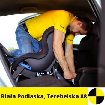 Siedziba fotelik.info - foteliki samochodowe dla dzieci: ul. Terebelska 88, Biała Podlaska