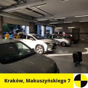 Siedziba fotelik.info - foteliki samochodowe dla dzieci: ul. Makuszyńskiego 7, Kraków