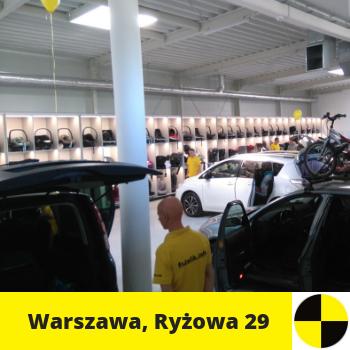 Siedziba fotelik.info - foteliki samochodowe dla dzieci: ul. Ryżowa 29, Warszawa