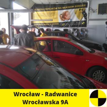 Siedziba fotelik.info - foteliki samochodowe dla dzieci: Wrocław: ul. Wrocławska 9A, Radwanice