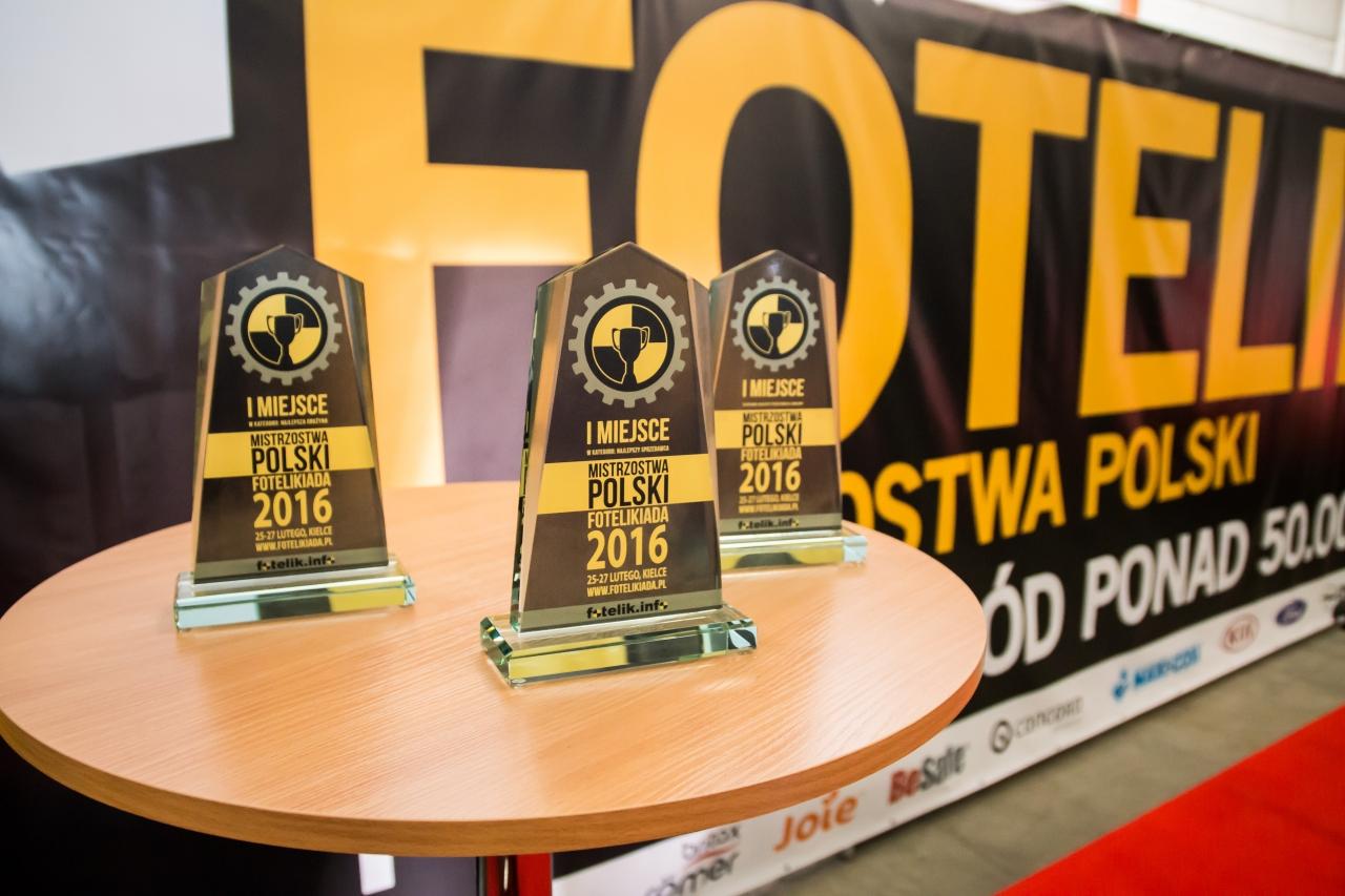 Trofea Mistrzostw Polski Fotelikiada 2016 czekają na zwycięzców