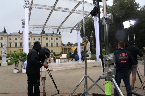Na planie programu DZIEŃ DOBRY TVN