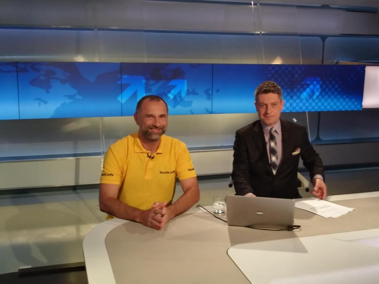 Paweł Kurpiewski w Polsat News