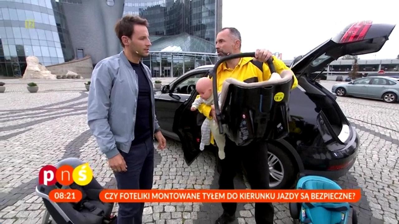 Paweł Kurpiewski kolejny raz był gościem programu - Pytanie na śniadanie.