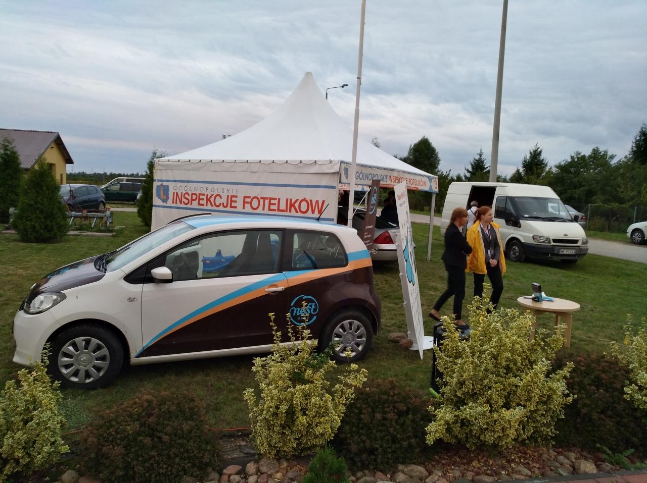 Samochód Nest Banku, naszego partnera w kampanii