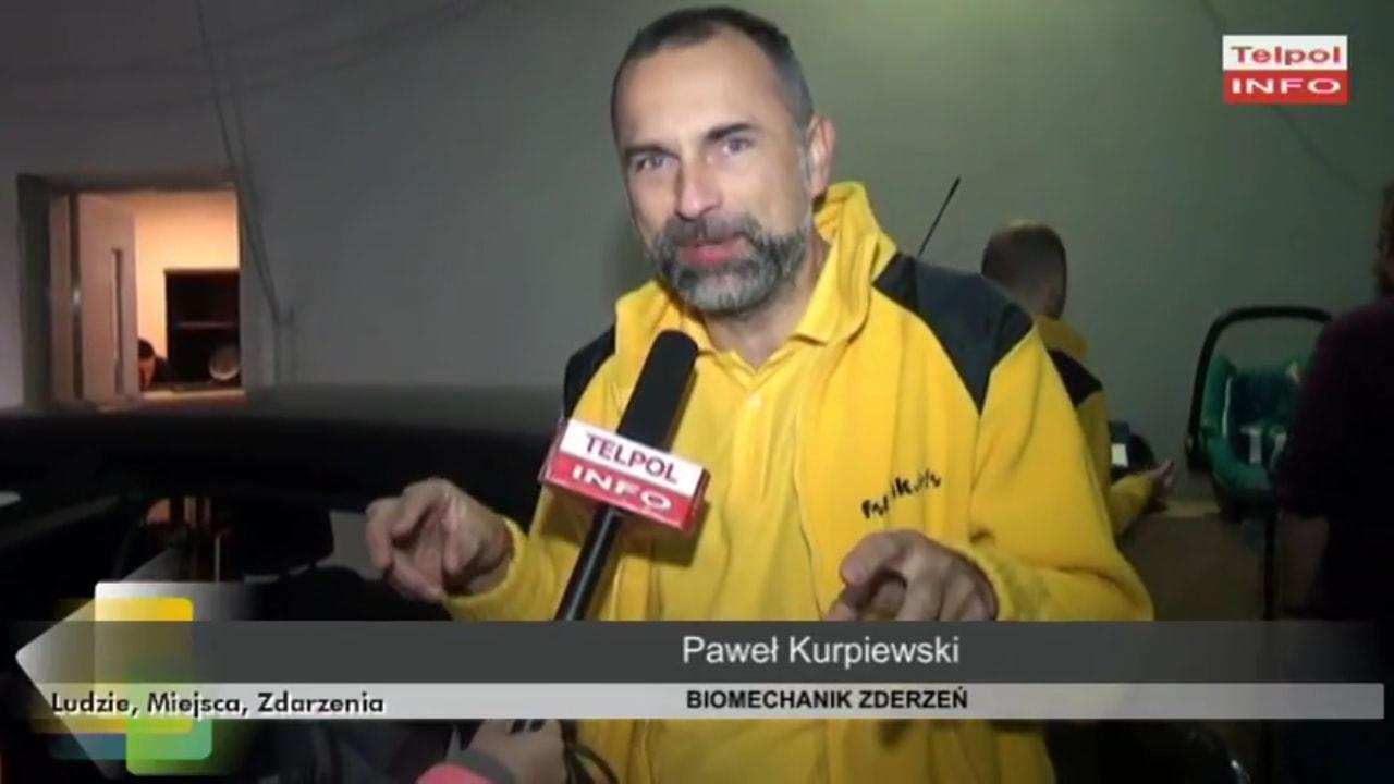 Paweł Kurpiewski tłumaczy kryteria, które musi spełniać fotelik