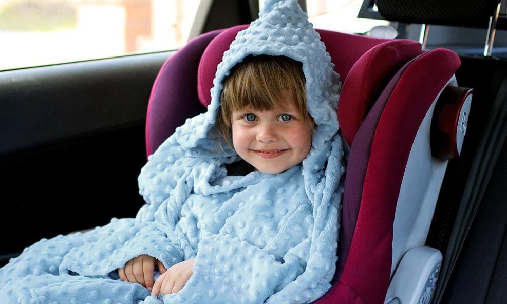 Baby Wrapi może być alternatywą dla grubej puchowej kurtki, czy kombinezonu.