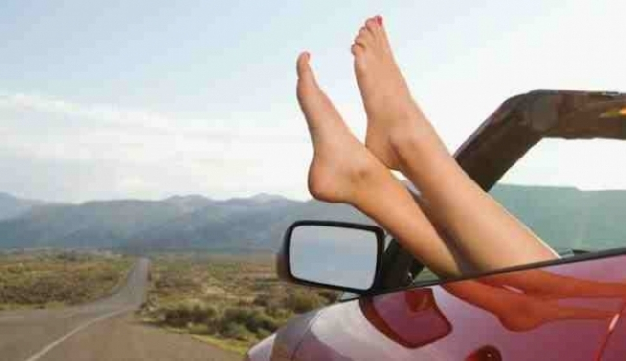 Jeśli chcecie zrobić fajne, wyluzowane zdjęcie na Instagrama, to zróbcie je na poboczu podczas postoju i... jak nadalej od jezdni!