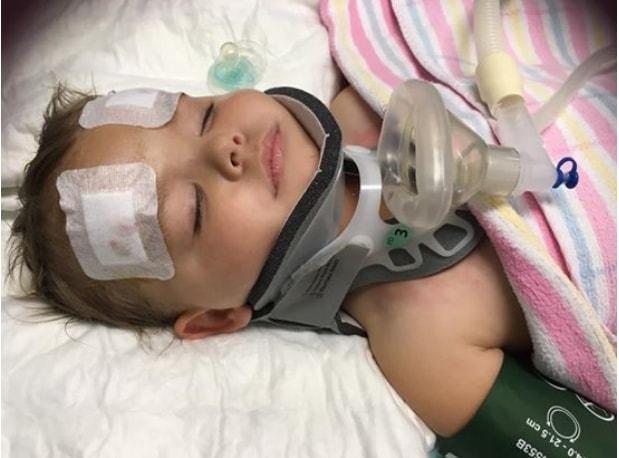 Siostrze dziewczynki nie stało się nic - miała jedynie siniaka. Niestety  jadąca tyłem Summer-Rose  doznała poważnych obrażeń.