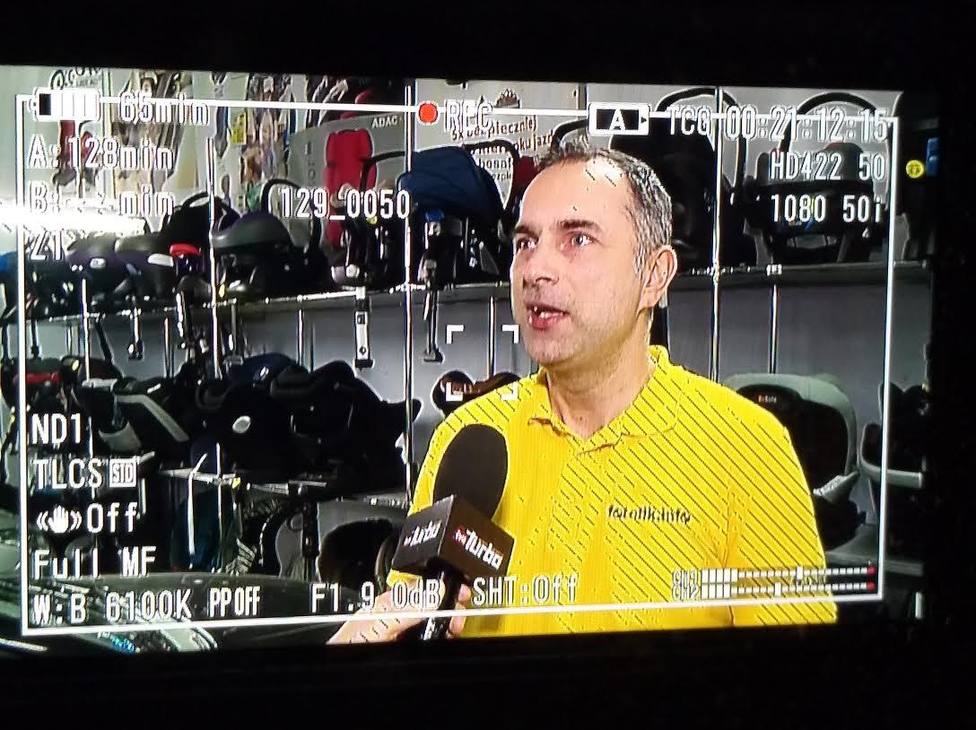 Paweł Kurpewski w TVN Turbo