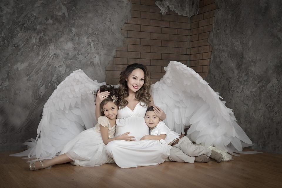 Żeby Wasze aniołki zawsze były tak grzeczne, na jakie wyglądają ;-)