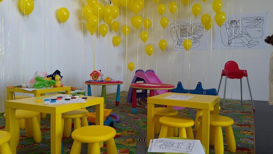 Na najmłodszych czeka plac zabaw pełen balonów z cukierkami i zabawek ;-)