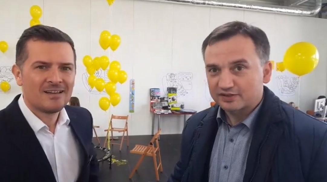 Bardzo niespodziewany gość ;-) Pan Zbigniew Ziobro