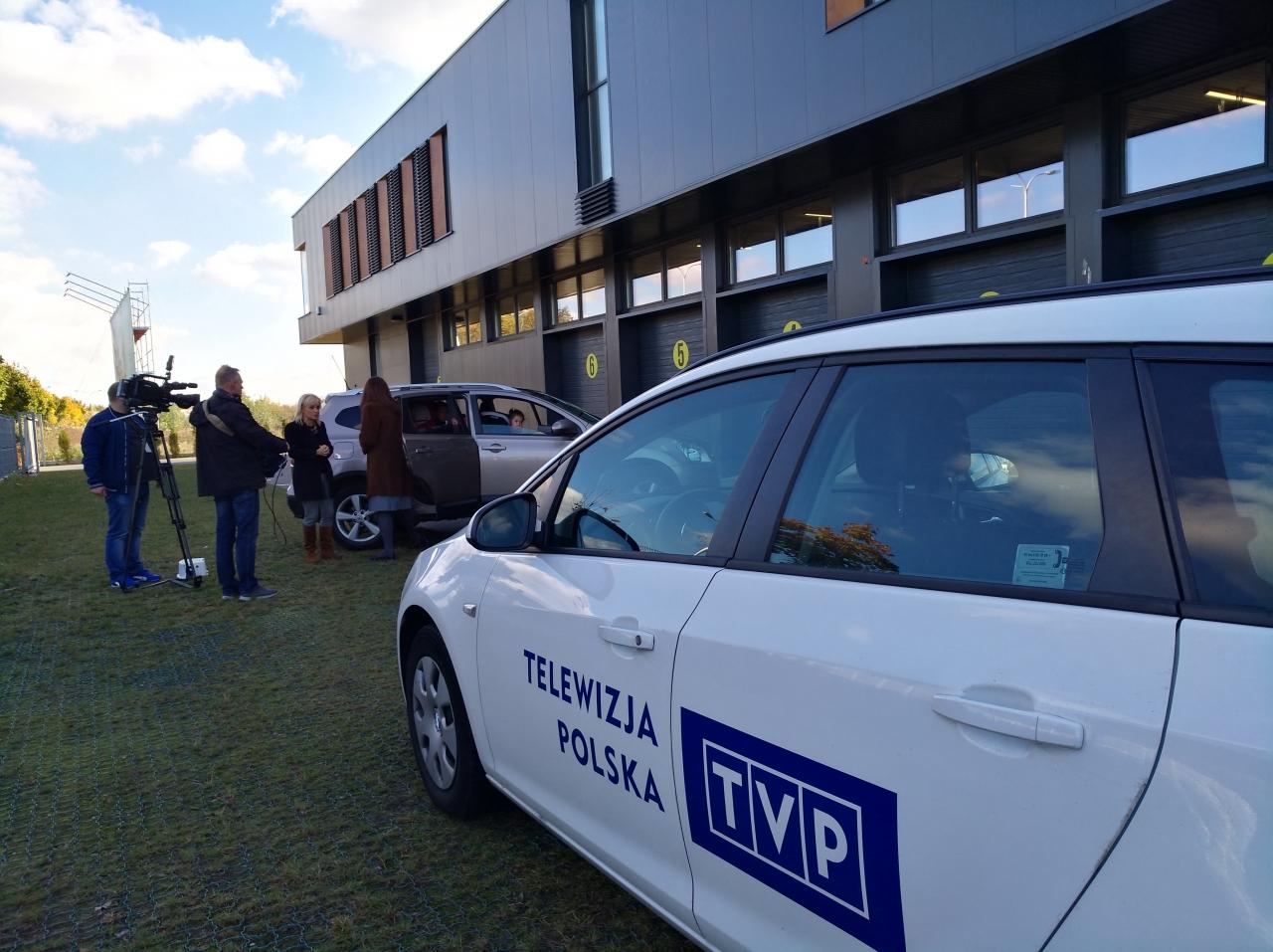 Było nam niezmiernie miło gościć w naszych progach ekipę TVP :-)