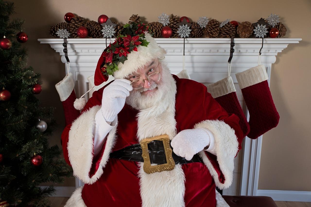HO HO HO! Nasz fotelikowy Mikołaj widzi, kto poprawnie odpowiada na pytania :-)