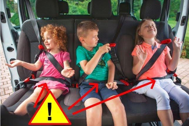 Smart Kid Belt nie zastąpi fotelika