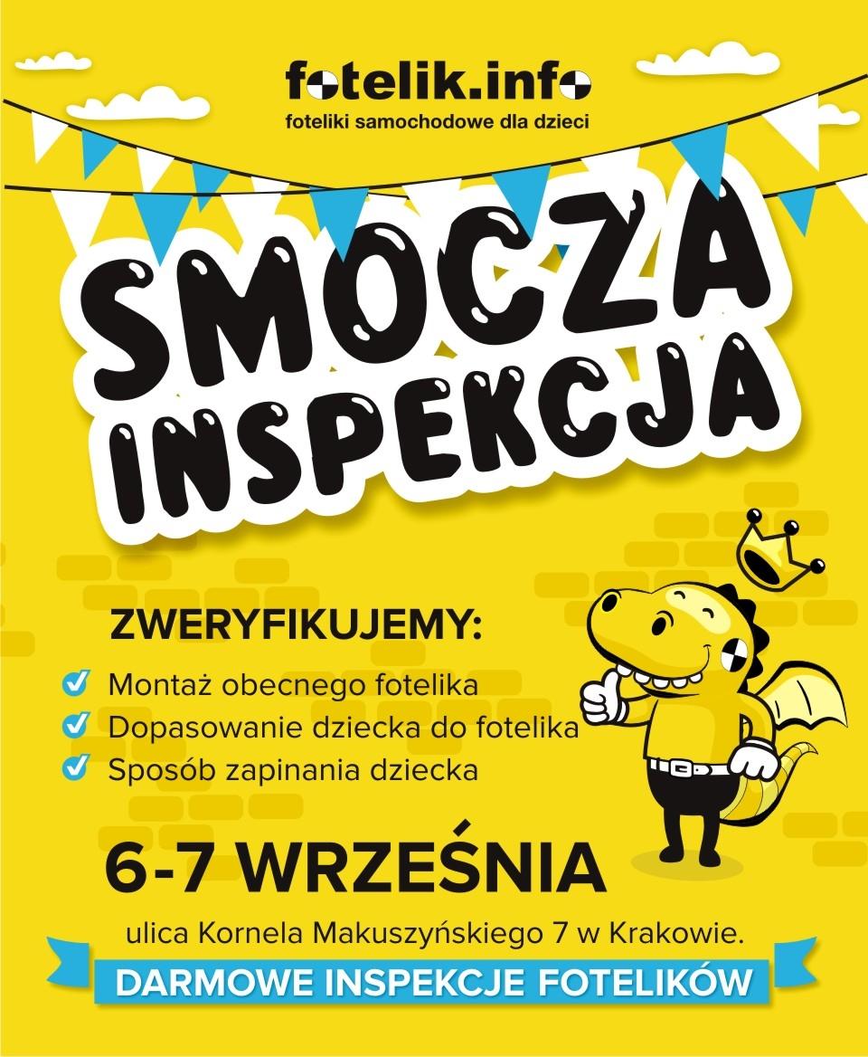 Smocze inspekcje w Krakowie! Przyjedź i spraw, aby Twoje dzieci jeździły po królewsku, jak na Kraków przystało :-)