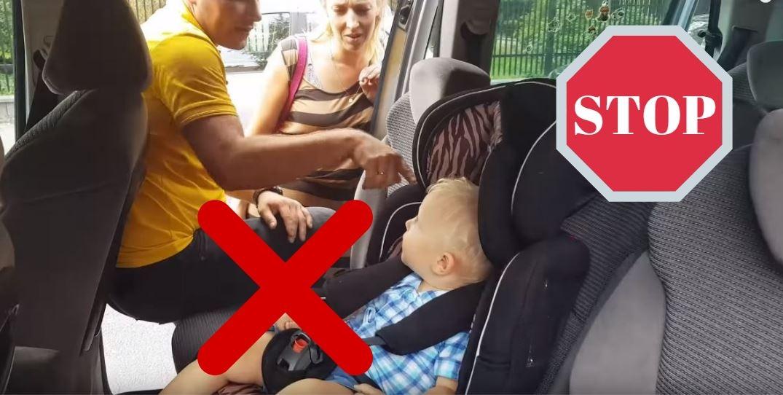 Znasz kogoś, kto w ten sposób przewozi dzieci w samochodzie? Udostępnij mu ten artykuł, albo weź go sobą i przyjedźcie sprawdzić swoje foteliki do Centrum Bezpieczeństwa fotelik.info w Krakowie. W najbliższą sobotę: 09.10, wszystkie inspekcje i dobory fotelików, są całkowicie bezpłatne!