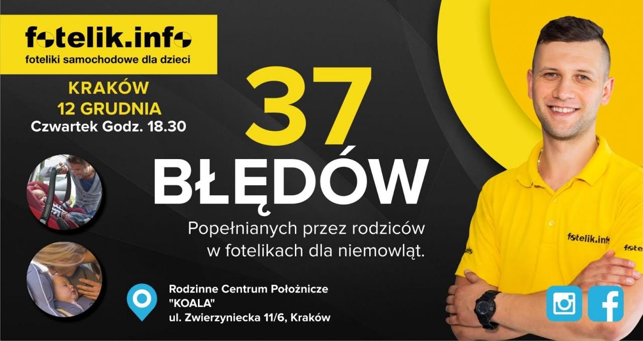 Zapraszamy na szkolenie z technikiem Krzysztofem Podolskim!