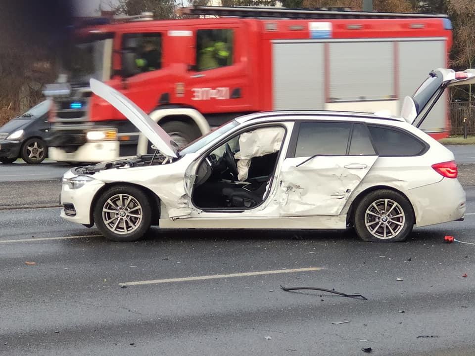 Tak wyglądał samochód Pani Małgorzaty po wypadku...