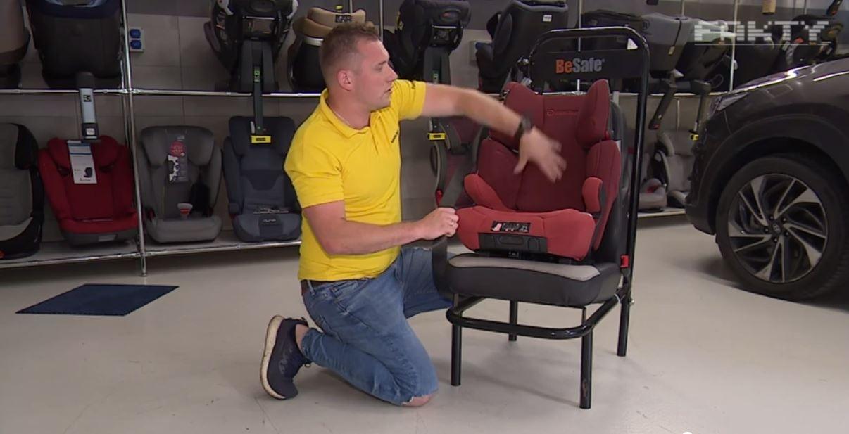 Samo posiadania fotelika w samochodzie nie wystarczy! Trzeba jeszcze umieć... poprawnie go używać!