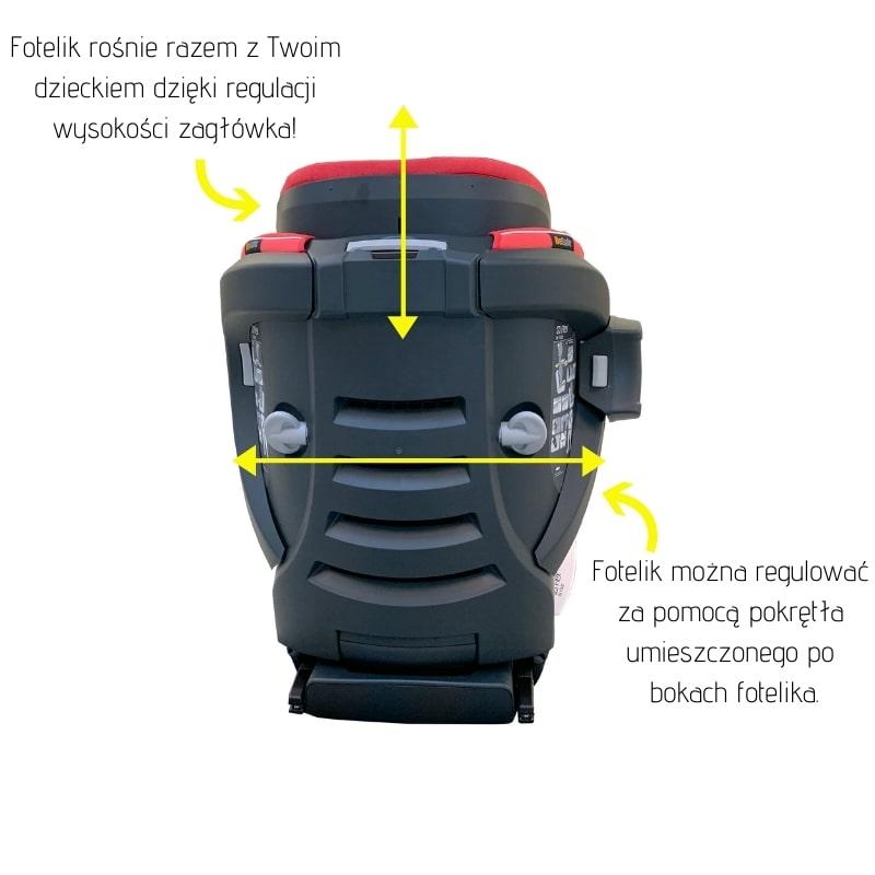 Cechy fotelik BeSafe iZi flex I-size