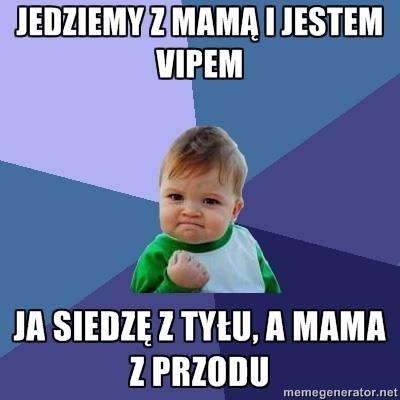 Pozwól swojemu dziecku, poczuć się jak VIP :-)