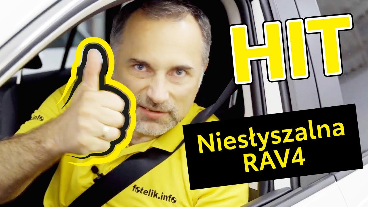 Poznaj kolejne zalety nowej Toyoty Rav4! Kolejny eksperyment fotelik.info!