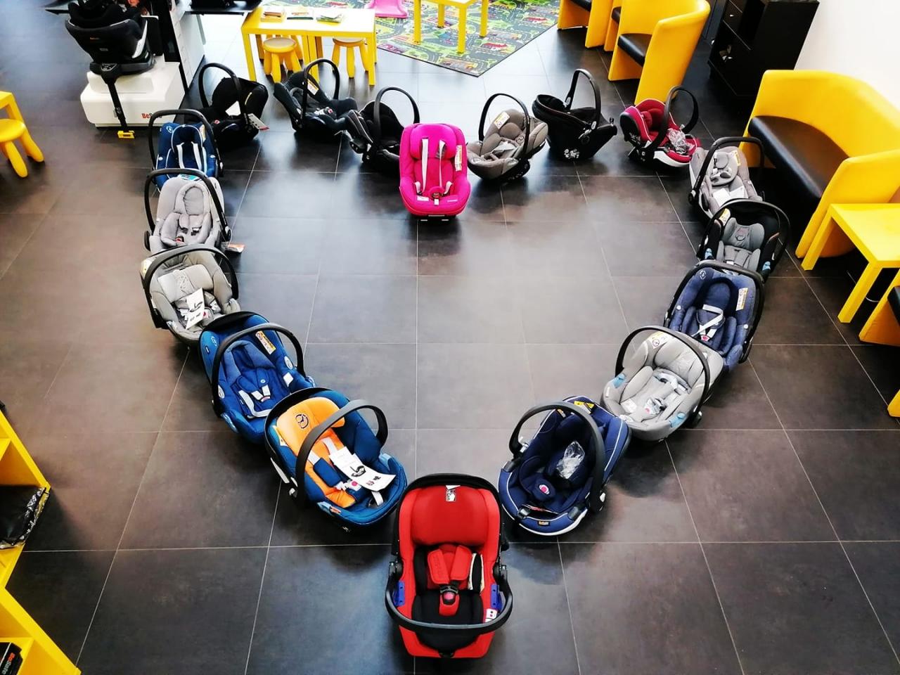 Foteliki kategorii 0-13 to jedyne fotele, których nie mierzymy do dziecka podczas doboru