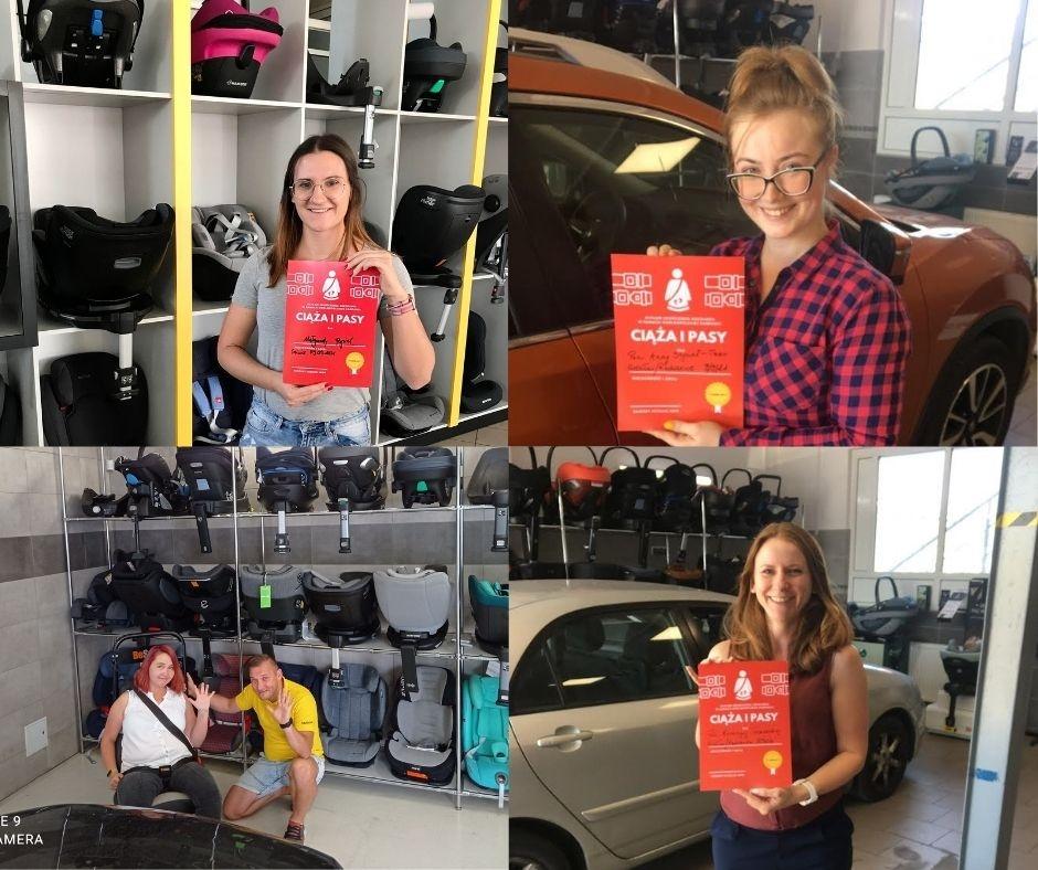 Nowe ambasadorki kampanii Ciąża i Pasy. Niektóre przejechały kilkaset kilometrów, aby odbyć szkolenie!
