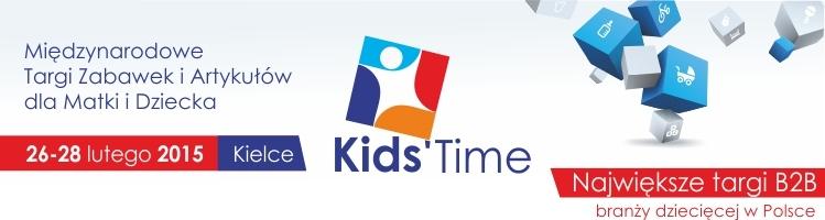 KID'S TIME w Targach Kielce już za miesiąc
