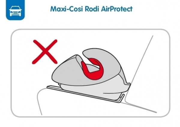 Maxi-Cosi zabrania użycia swojego najnowszego fotelika AirProtect bez użycia oparcia