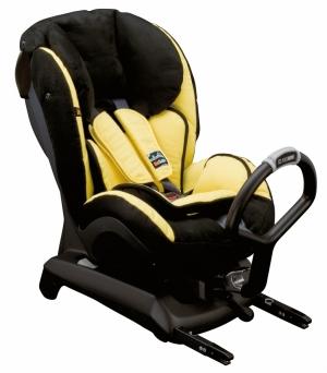 Fotelik BeSafe iZi Kid X1 ISOfix montowany tyłem do kierunku jazdy, uzyskał 4 w testach ADAC. Obecnie zastąpił go nowszy model Fotelik BeSafe iZi Kid X3 ISOFIX.