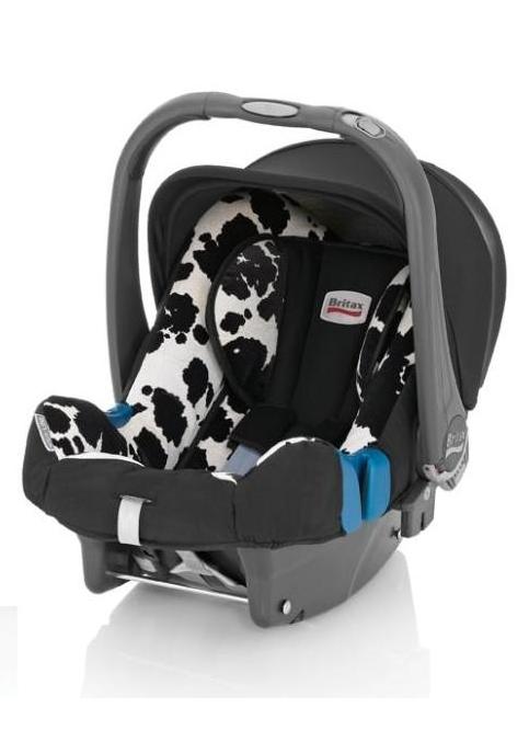 Roemer Baby Safe Plus SHR II. W połaczeniu z bazą ISOFIX uzyskał najwyzszy wynik w testach fotelików 2011