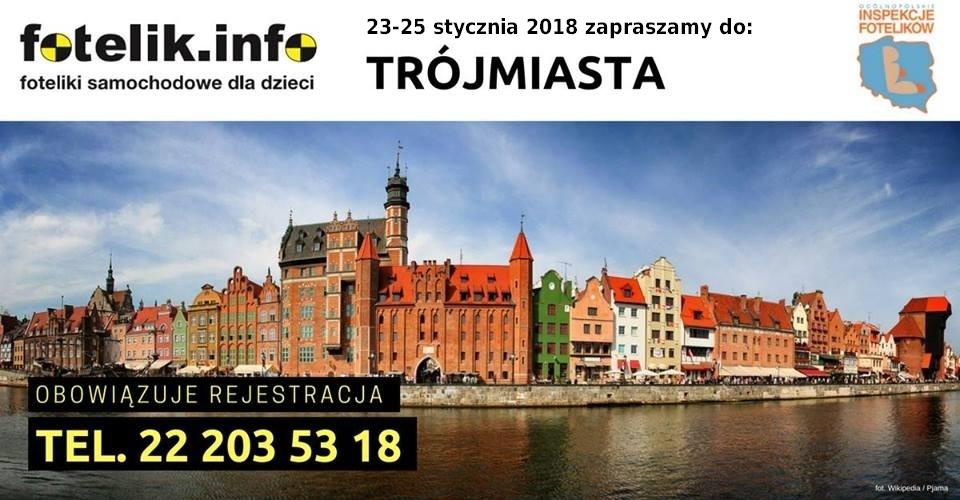 Specjalnie na zaproszenie rodziców z Trójmiasta, jedziemy do Gdańska!