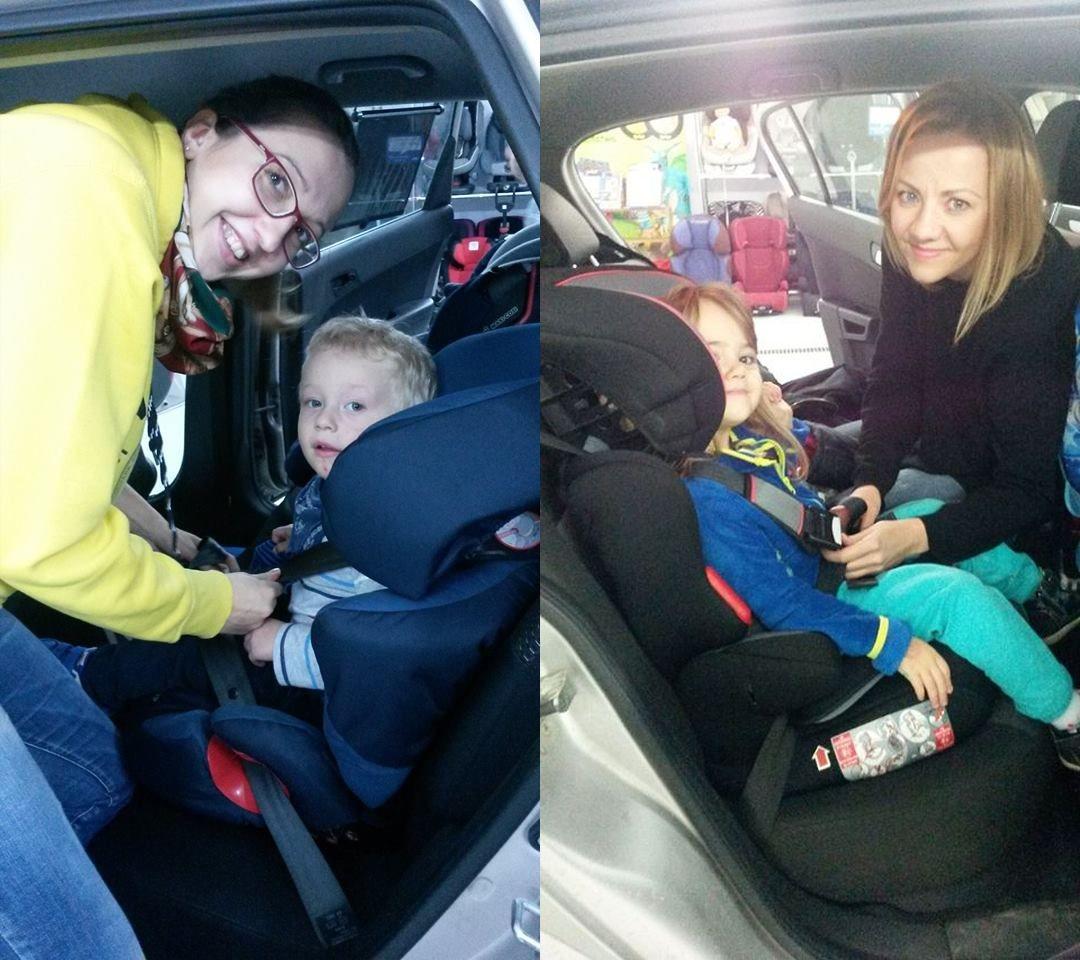 Zadowolony rodzic i bezpieczne dziecko w foteliku - wszystko w nowoczesnych i komfortowych warunkach - nowy punkt doboru fotelików fotelik.info