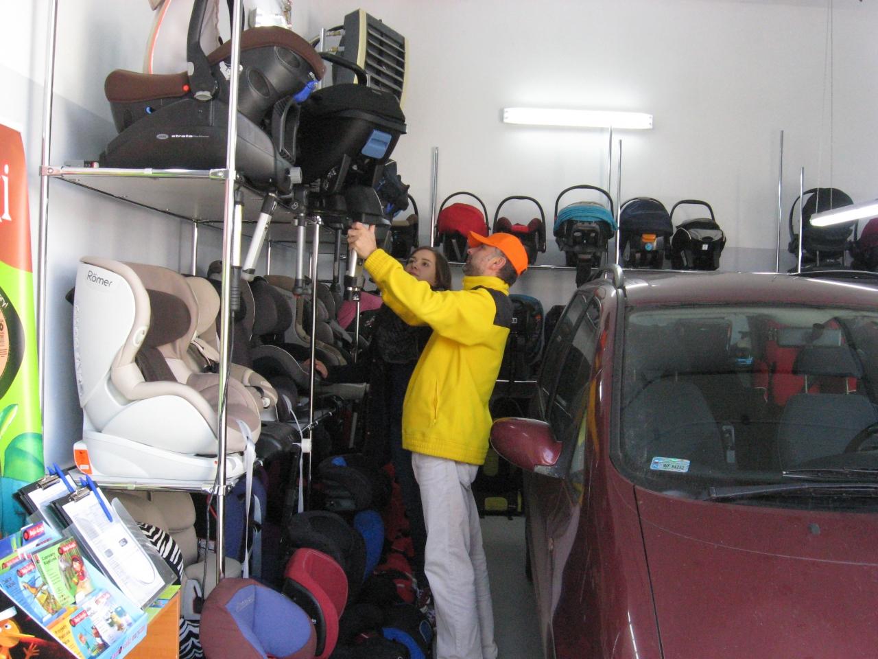 Zawsze szukamy tak długo, aż znajdziemy optymalne foteliki dla Twojego dziecka i do Twojego auta