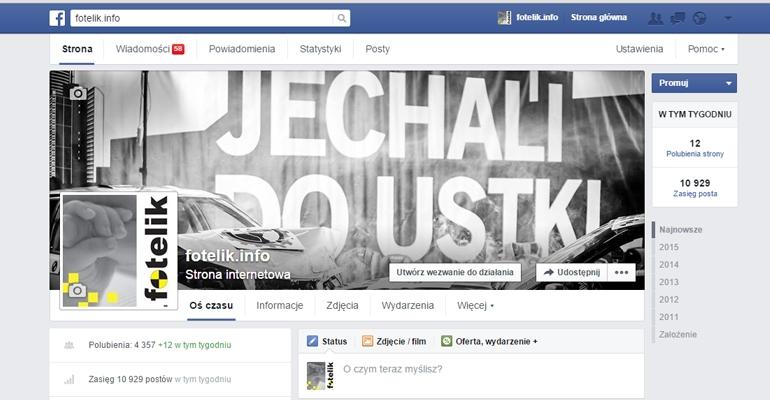 fotelik.info na facebook'u