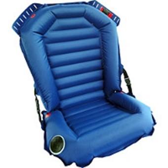 Tutaj, widzimy fotelik zachwalany jako - najbardziej przypominający normalny fotelik. Faktycznie - super ochrona boczna, ochrona głowy, prowadnice, RWF, możliwość montowania na ISOFIX... Ludzie, coś takiego może być pomocne, owszem - ale na plaży na wakacjach!