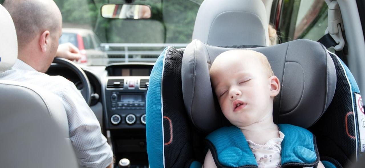 Jazda w fotelikach RWF jest NAJBEZPIECZNIEJSZYM sposobem przewozu dzieci w aucie.