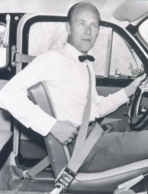 Niels Bohlin - wynalazca pasów bezpieczeństwa