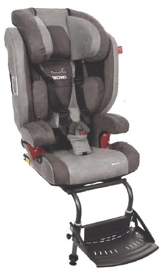 Fotelik dla niepełnosprawnych dzieci Recaro Monza Seatfix Reha