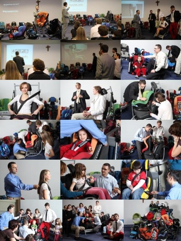 Eksperci serwisu fotelik.info prowadzą szkolenia dla producentów, importerów i sprzedawców fotelików.